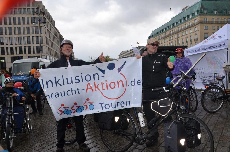 Impressionen vom Start in Berlin